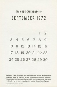 September, 1972, Herity Press