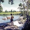 Bob at Lake Hiawatha, Pipestone NM, MN, June 1969