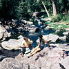 Dave Ley and Barbara Reynolds at Hiawatha Creek, Pipestone NM, MN, 1969