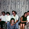 Bob, Barbara, Dave, Jean, Barbara Jean, John in Omaha, NE, September 1969