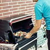 Herb grilling in Lincoln, NE, August 1969