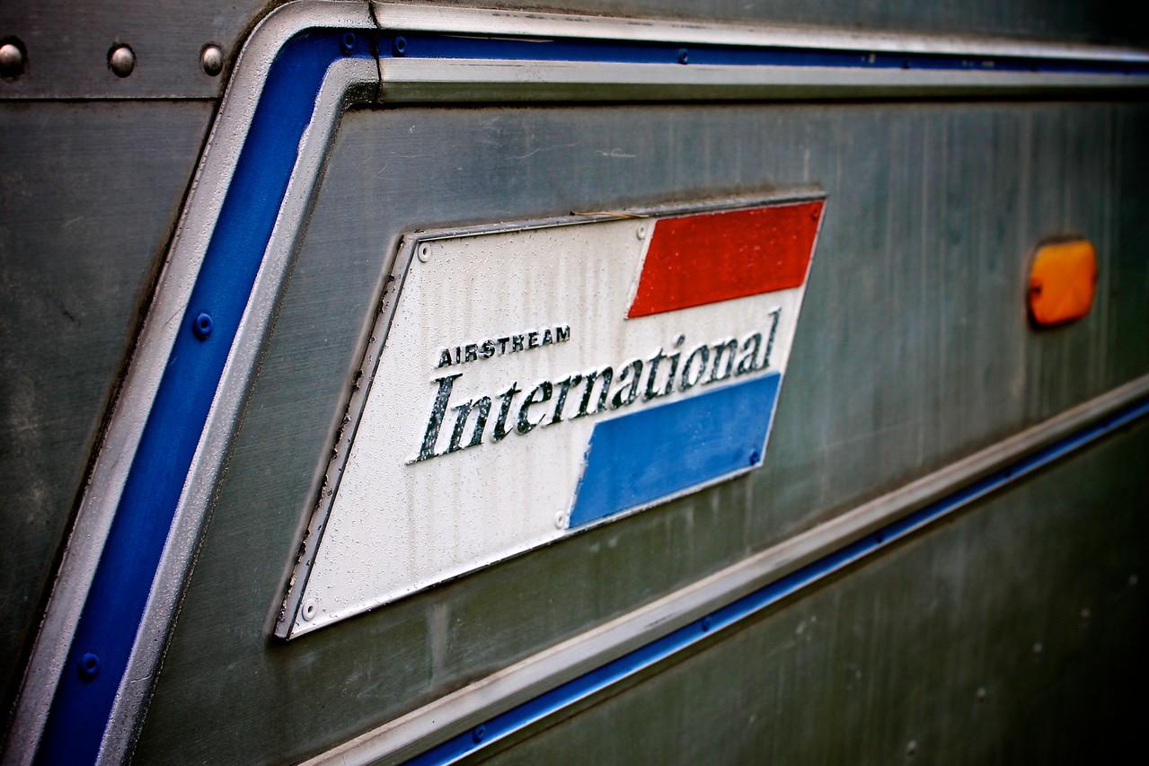1970 Airstream International Sovereign Placard
