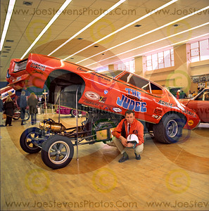 Arnie Beswick at the 1970 Lightguard Armory Car Show