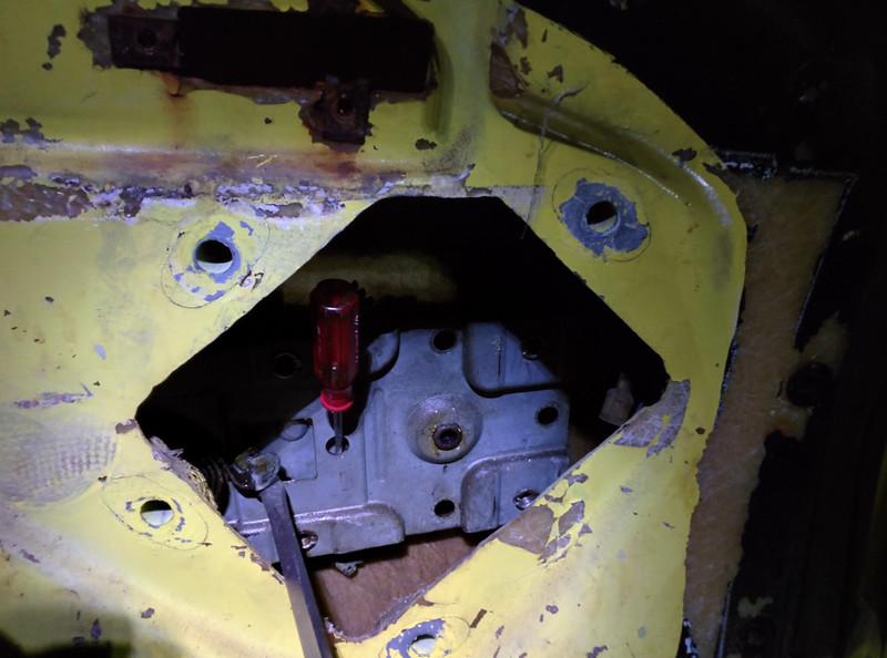 Window-motor replacement.