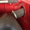 Old cloth fuel hose and vent hose