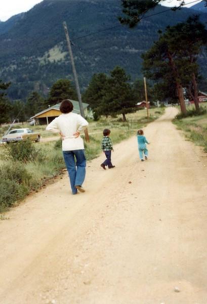 Estes Park Trip 1976