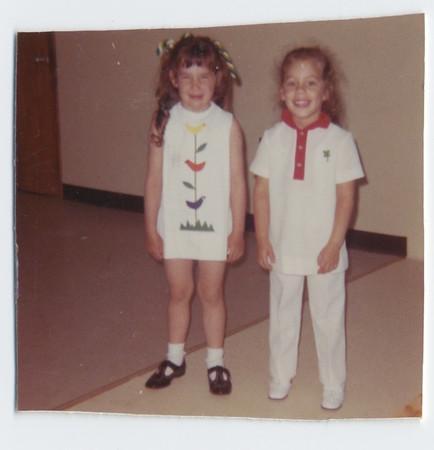 1970 06 Linda's Nursery School Graduation