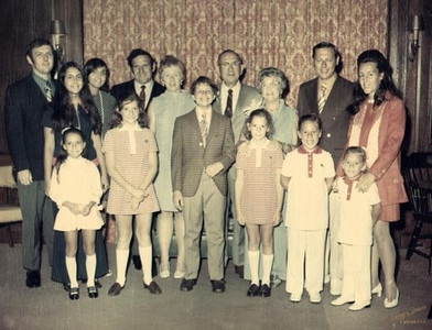 1970 08 Al and Bertha's 40th Anniversary Party
