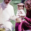 Kristi with the Easter Bunny, Easter, Bellevue, WA, April 1973