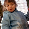 Kristi in the apple tree, Prairie City, OR, May 1973