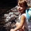 Kristi at Strawberry Lake, OR, August 1973
