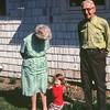 Myrtle Drewett, Kristi, Jim Drewett, Prairie City, OR, May 1973