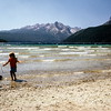 Kristi, Sawtooth NRA, Redfish Lake, ID, August 1973