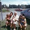 Grandma Ball, Aunt Karen, Mom, and the kids
