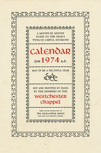 Cover, 1974, Best-Cellar Press