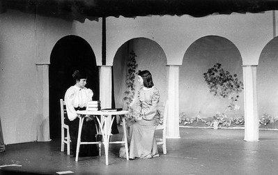 Scene from 'The Importance of Being Ernest', 1976