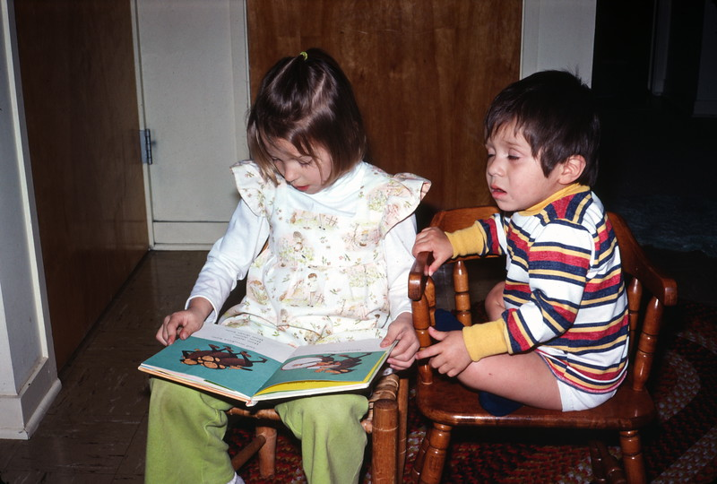 Read to me, Craters of the Moon NM, ID, February 1976