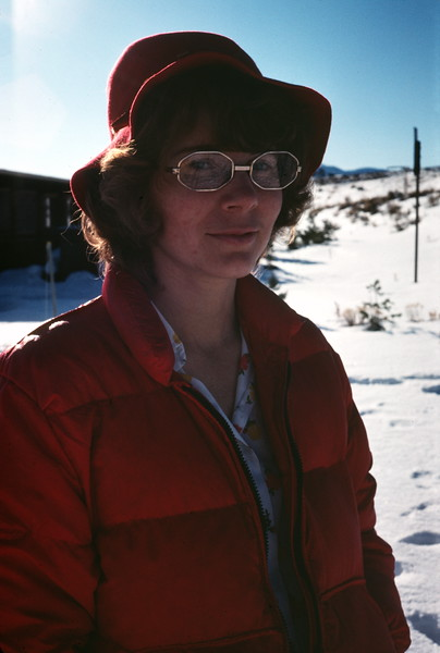 Barbara, Craters of the Moon NM, ID, January 1976
