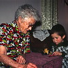 Scott with Great-Granny, Prairie City, OR, January 1976