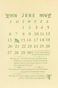June, 9176, Village Green