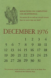 December, 1976, Herity Press