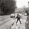 Peter Baird - Hitch Hiking toward Barcelona - Dec 30 1977 Next stop Lyon France001 by Fritz Foster