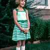 Kristi, first day of second grade, Capitol Reef NP, UT, August 1977