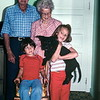 Great-grandad, Great-granny, Scott, Kristi and Pahn, Paririe City, OR, October 1977