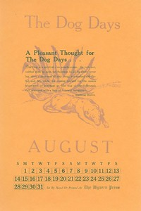 August, 1977, Wyvern Press