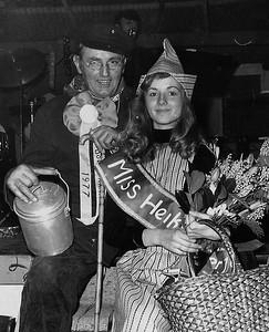 Boerenkinkel Gijs van de Voort en Miss Heikneuter Diana Meeuwsen