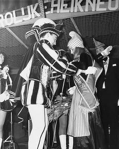 Prins Frans den Eerste met Miss Heikneuter Diana Meeuwsen