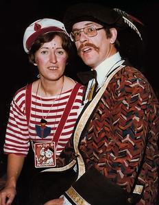Theo Huijs met zijn vrouw Tiela