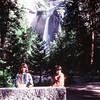 Kristi and Scott in Yosemite NP, CA, June 1978