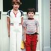 First day of school in Vienna, VA, September 1979