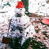 Snowman, Capitol Reef NP, UT, February 1979