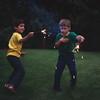 Scott and Matt, Bellevue, WA, July 1979