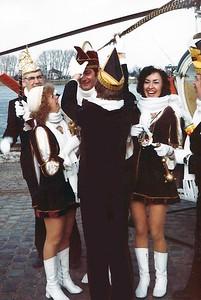 Aankomst Prins Piet den Eerste aan de Waalkade
