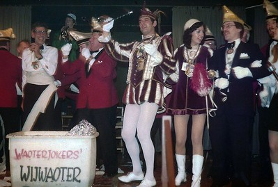 Prins Piet den Eerste op bezoek bij de Waoterjokers