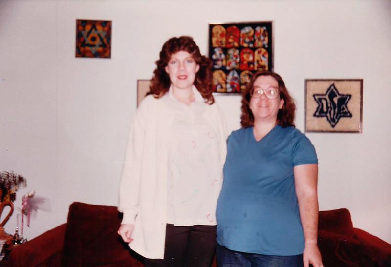November 1983 - Pregnant