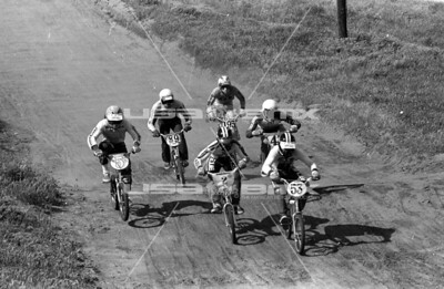 #53 John Crews, #2 Greg Hill, #5 Denny Davidow