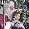 Frankie visits Santa - 1985