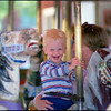 DC Mall carousel -May,  1987.