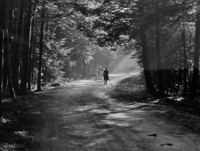 A magical walk down the camp road, 1971