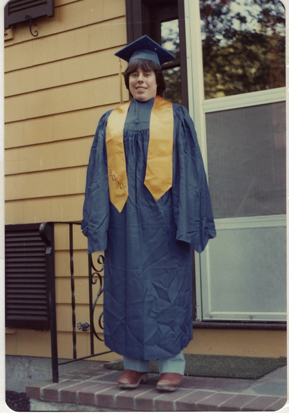 1980 06 Robin's High School Graduation