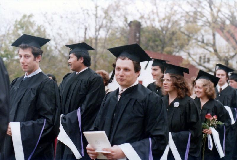 1980 05 David's College Graduation