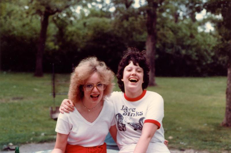 Deb and Kate, 1982