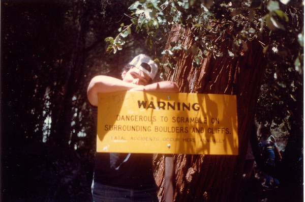 1983-05-00 DaveYosemiteSign