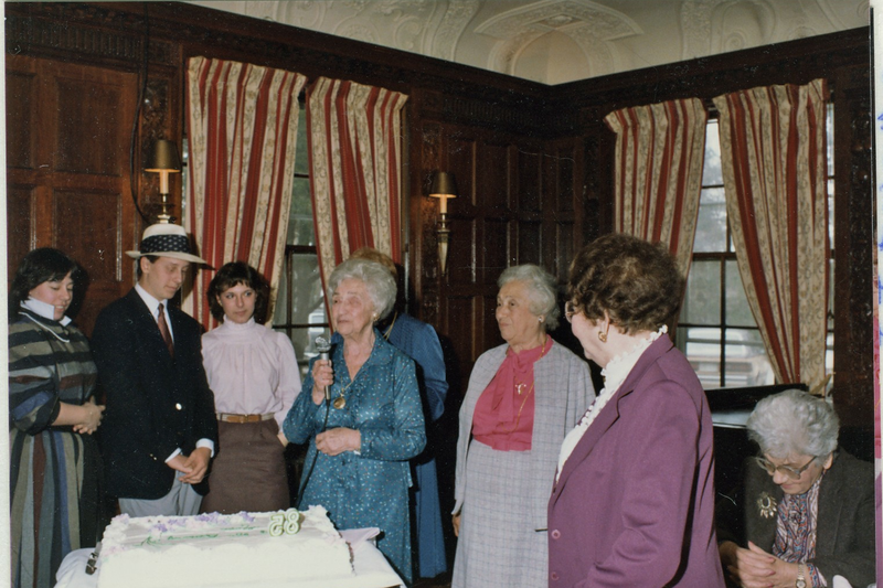 1985 03 Bertha's 85th Birthday Party