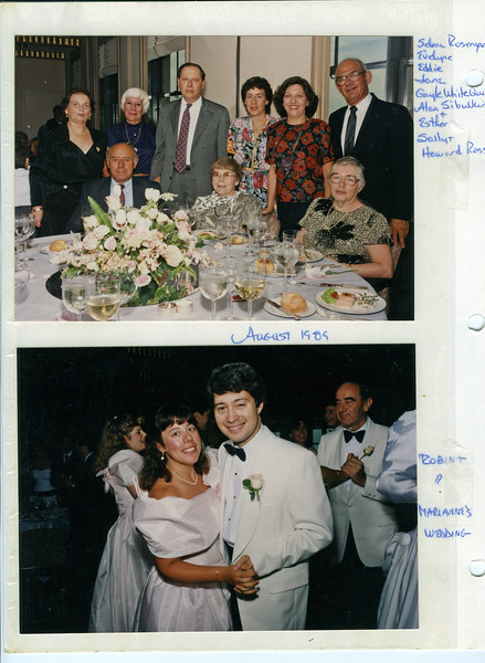 1989 08 Marianne Mendelsohn's Wedding