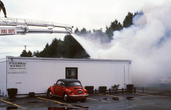 9/29/1989 Pye & Hogan Fire